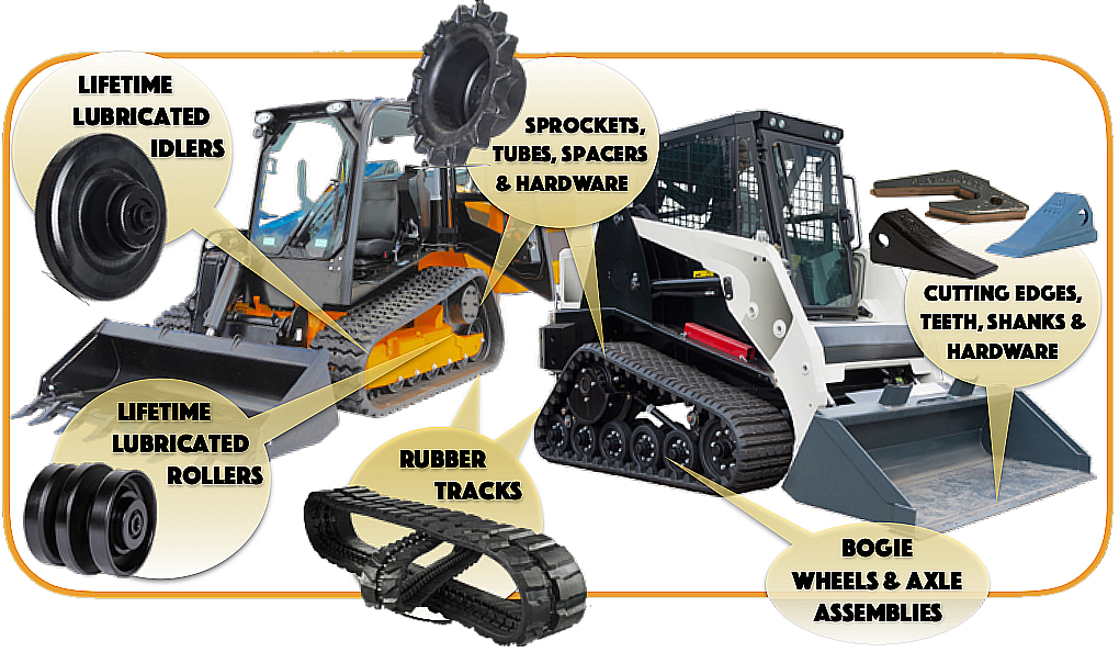 Aftermarket Rubber Tracks Oem Replacement Tracks