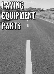 Asphalt Paver Parts