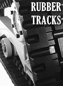 Rubber Tracks for Compact Track Loaders(CTL), Skid Steers, Excavators and more